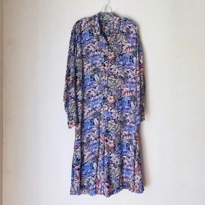 Jones New York long sleeve shirtdress size 8
